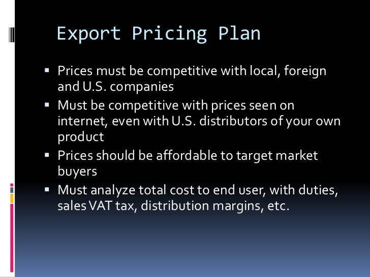 marketing and indirect exporting strategy Market entry modes for international businesses (chapter 7) distinguish between direct and indirect exporting international marketing analysis and strategy.