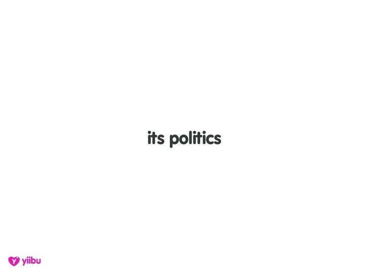 its politics