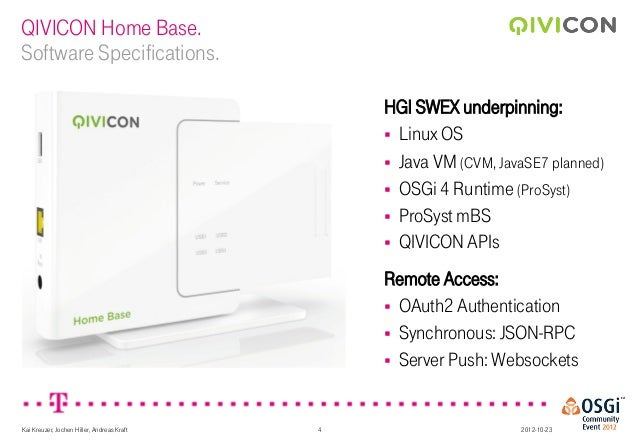 Developing Applications For Your Smart Home With Qivicon Kai Kreuze