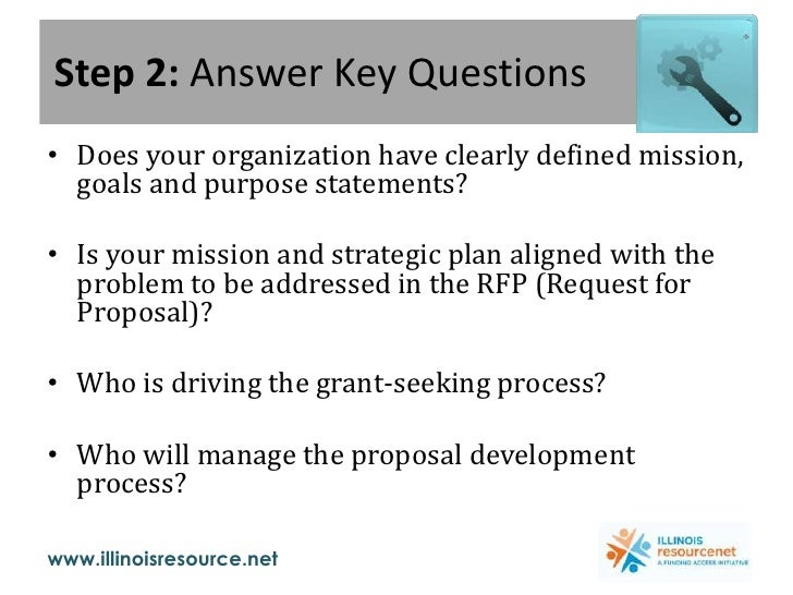 Step 2: Answer Key Questions<br />Does your organization have clearly defined mission, goals and purpose statements?<br />...