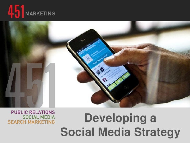 Developing aSocial Media Strategy