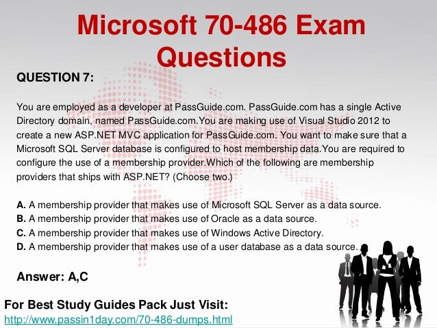 Top 10 Exam Questions For Microsoft Developing asp net mvc
