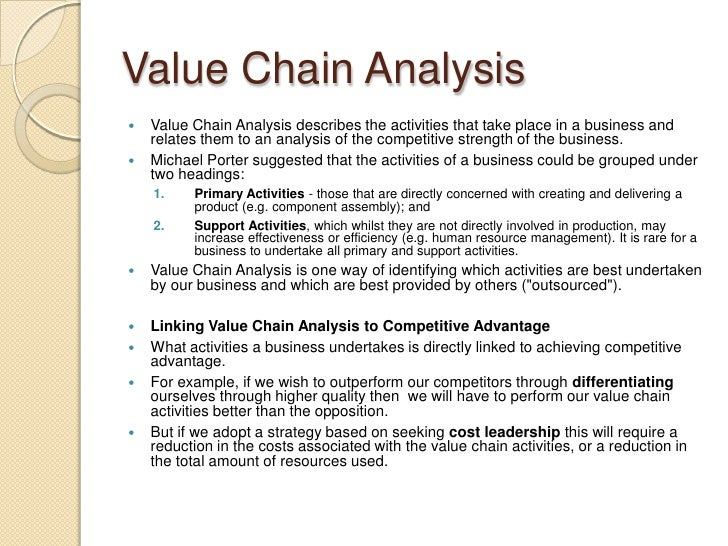 value chain analysis of avon Avon competitive strategy  competitors analysis attributes avon mary kay beautycom olay products  products proof direct selling and the avon lady value.