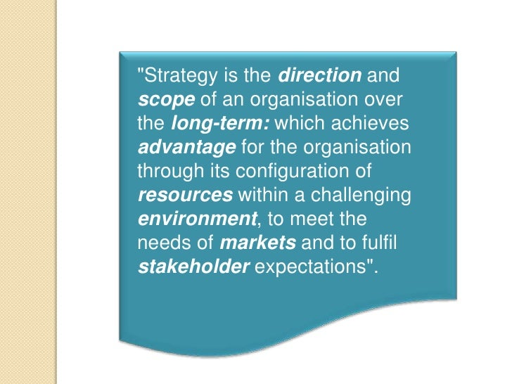tesco nature scope and purpose of strategic management The sbu would cover the strategic foundation size and scope of  tesco's nature's choice range has already  multinational strategic management:.
