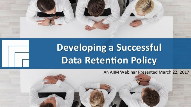 how to create a data retention policy