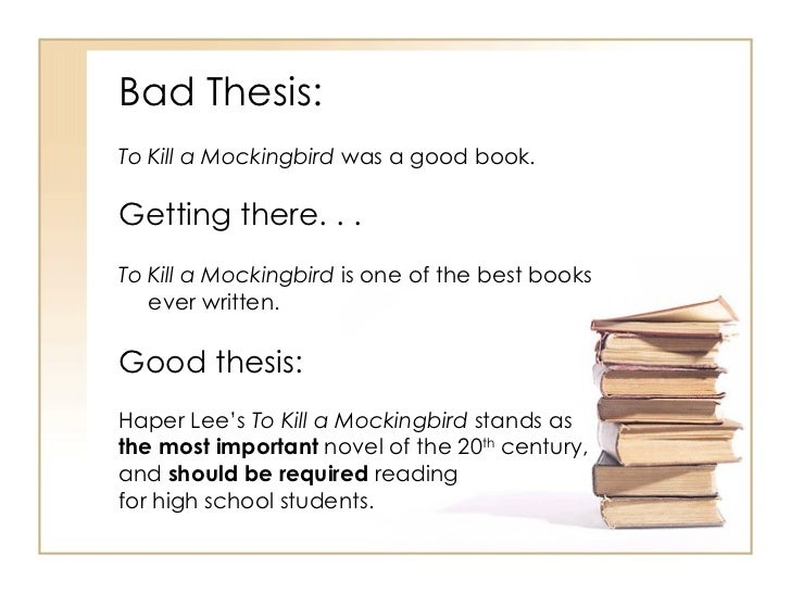 thesis of book essay Best help on how to write an analysis essay: to re-tell the book relate briefly only portions of the text that will emphasize and/or lead up to your thesis.