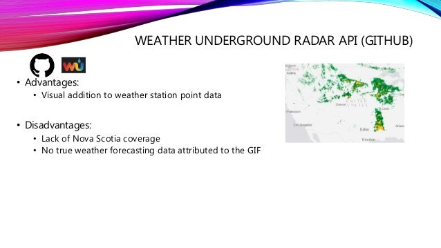 Developing a Weather Forecasting Web-Service using ArcGIS