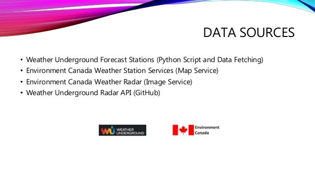 Developing A Weather Forecasting Web Service Using Arcgis Api For Jav