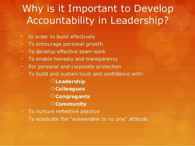 importance of accountability in the army Accountability quotes from brainyquote, an extensive collection of quotations by  famous authors,  candor and accountability in a democracy is very important.