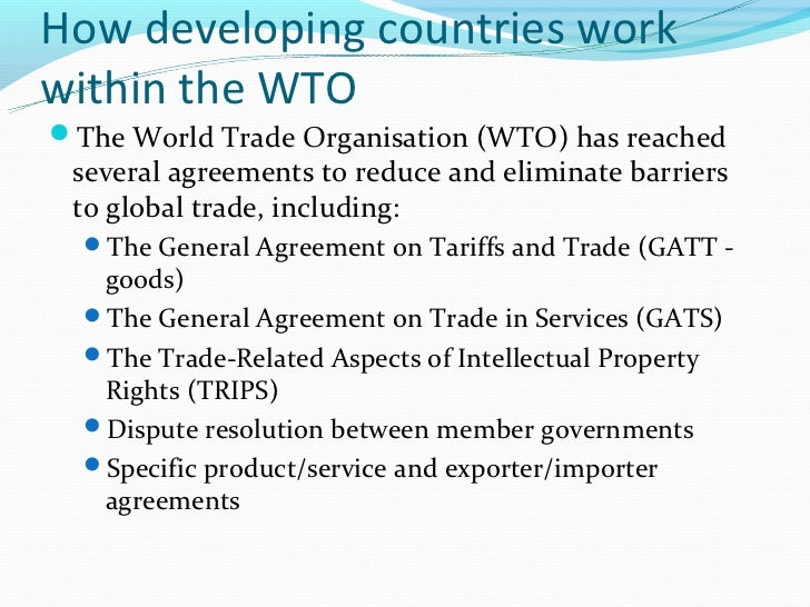 Intellectual Property Rights And Developing Countries