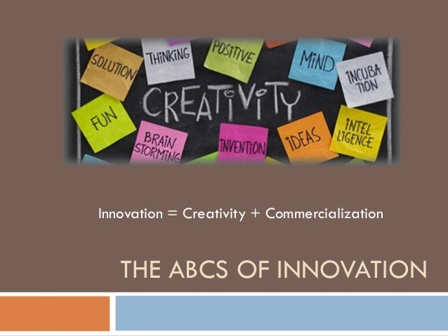 developing creativity and understanding innovation Professional development blog people should look at creativity as a way to get better at customer needs should drive innovation by understanding your.