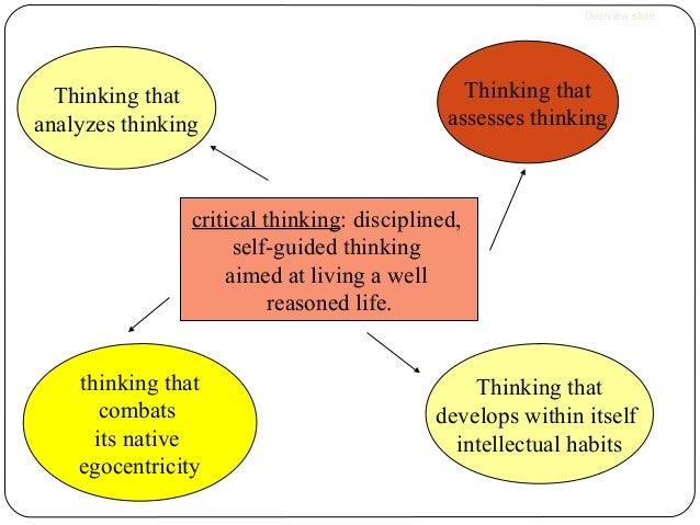 critical thinking study skills
