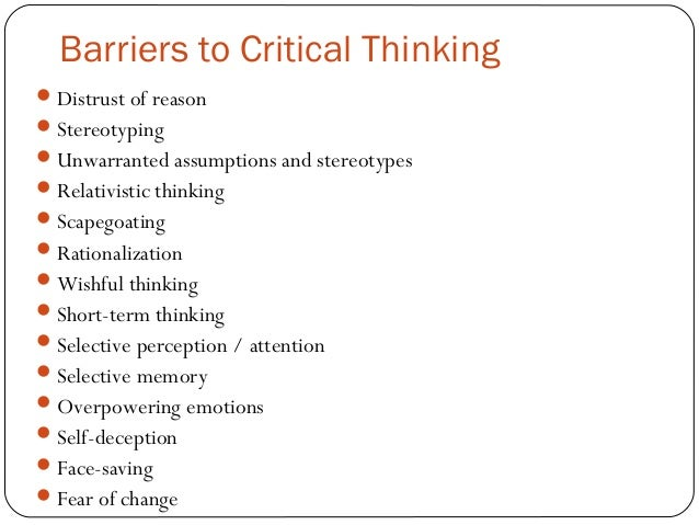 the importance of critical thinking in the workplace 5 giờ trước why is critical thinking important to teach kids hear from an education expert about the value of critical thinking in school, the workplace, and beyond.
