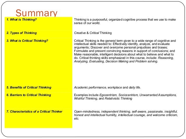developing critical thinking skills in the workplace