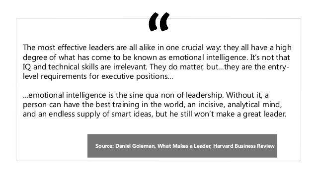 leadership emotional rational How emotional intelligence can help leaders meet the increasing demands of modern leadership.