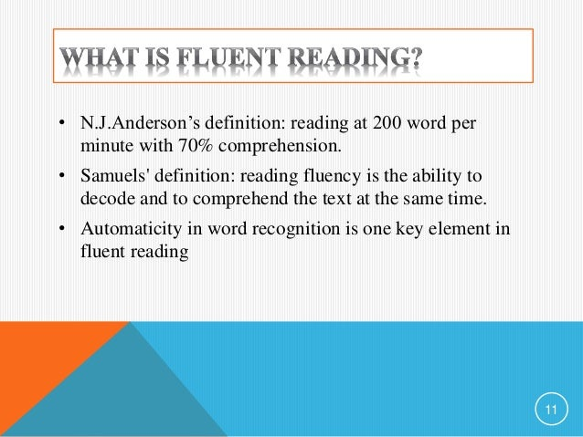 Automaticity in Reading and Spelling