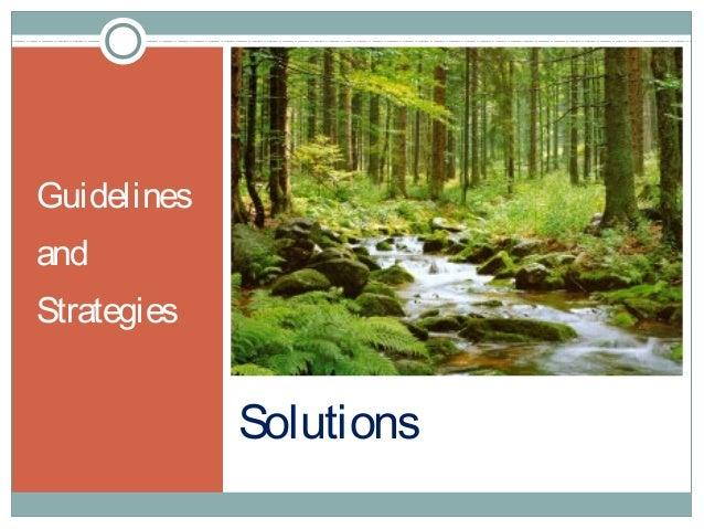 Developing environmentally sustainable societies Slide 2