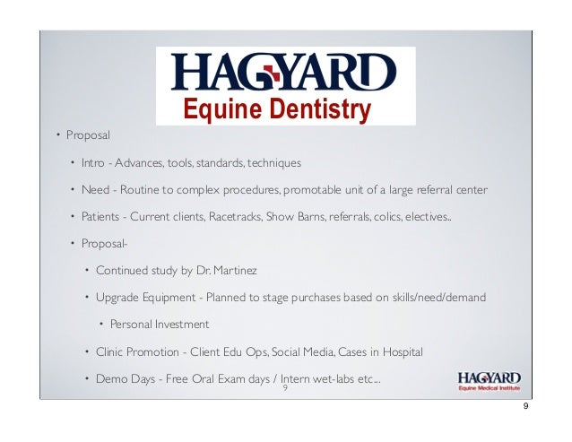Equine Dentistry •  Regular dental care can: • Improve health and comfort of your horse • Improve performance • Increase f...