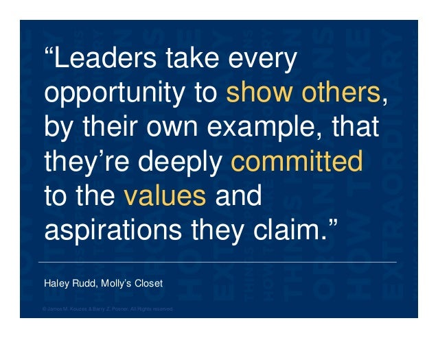 """Haley Rudd, Molly's Closet """"Leaders take every opportunity to show others, by their own example, that they're deeply commi..."""