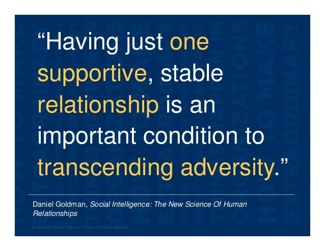"""Daniel Goldman, Social Intelligence: The New Science Of Human Relationships """"Having just one supportive, stable relationsh..."""