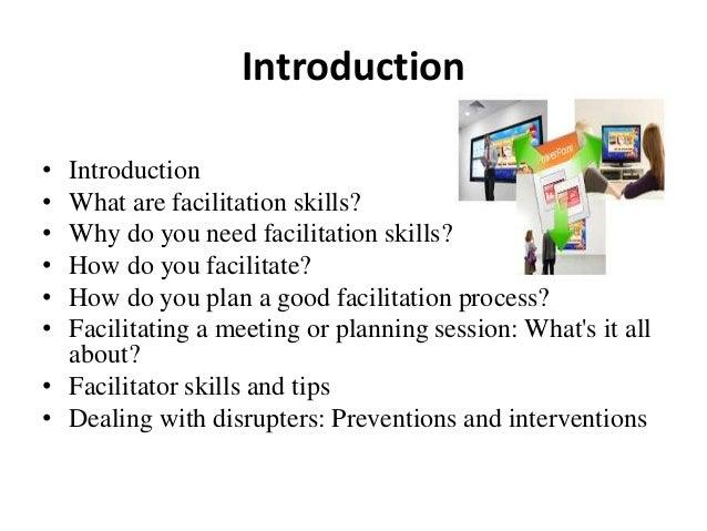 The Role of a Facilitator