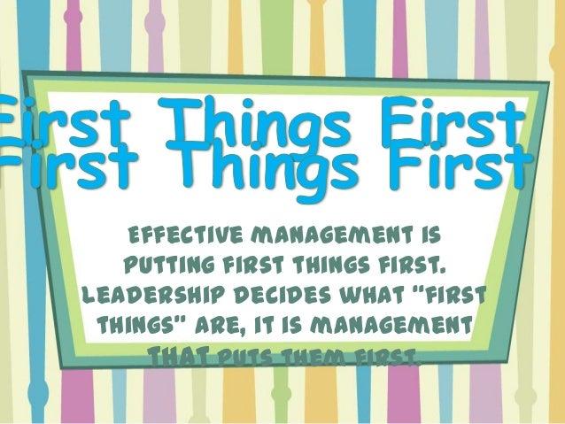 The habit of effective interpersonal leadership is think Win / Win. Win / Win is not a technique; it is a total philosophy...