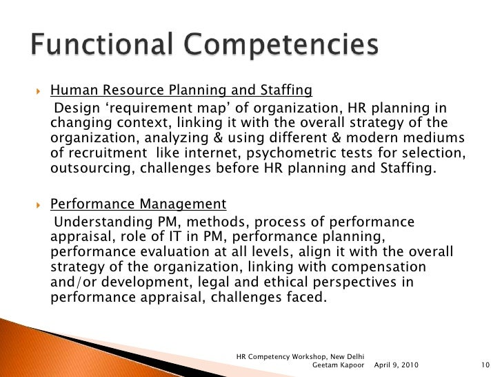 methods and techniques of human resource planning