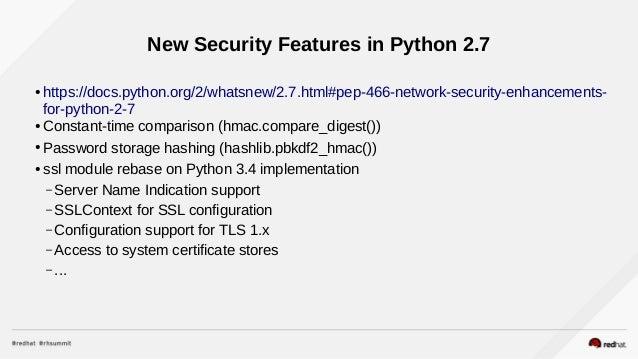 Developing in Python on Red Hat Platforms (DevNation 2016)