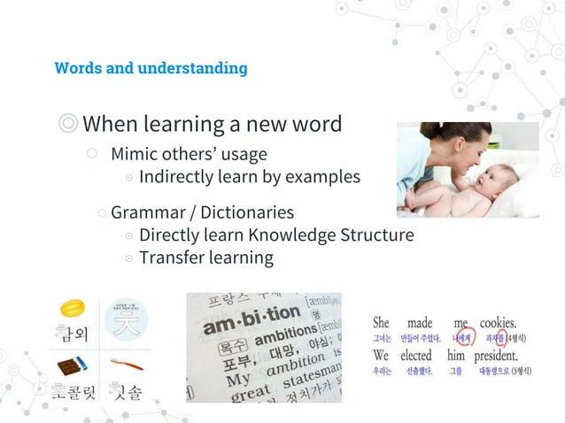 Words and understanding