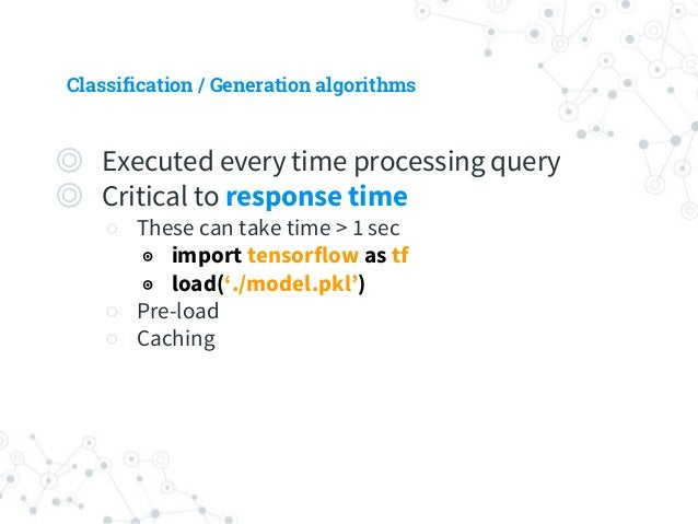 ML modules to train ◎ Sentence Vectorizer ○ Word/Character/POS embedding ○ Word vector concatenating operator ○ extra feat...