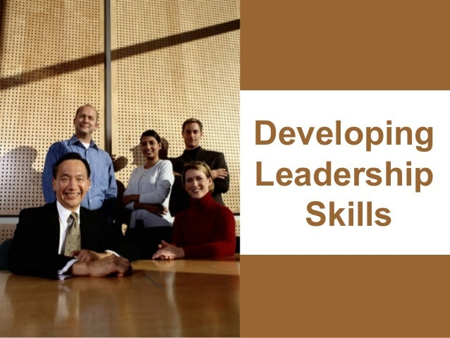 Developing                    Leadership                       Skillswww.exploreHR.org            1