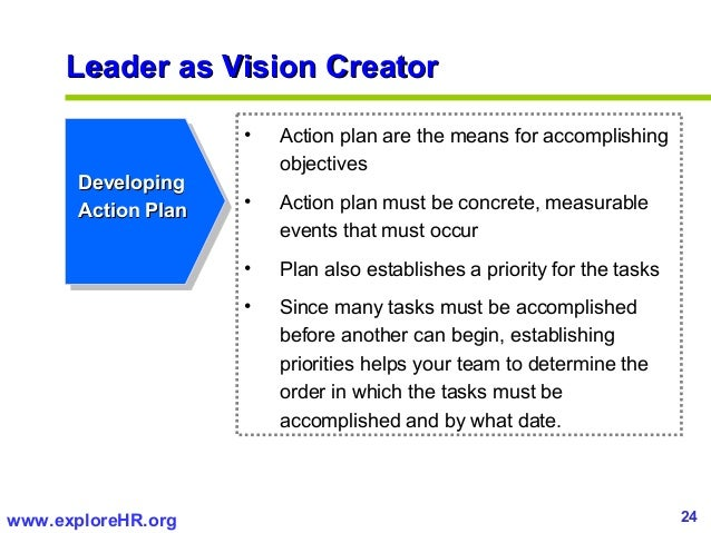 Developing An Effective Leadership Excellence Action Plan