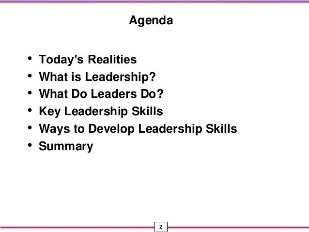best ways to develop leadership skills