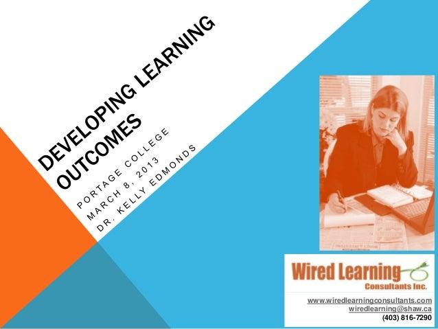 www.wiredlearningconsultants.comwiredlearning@shaw.ca(403) 816-7290