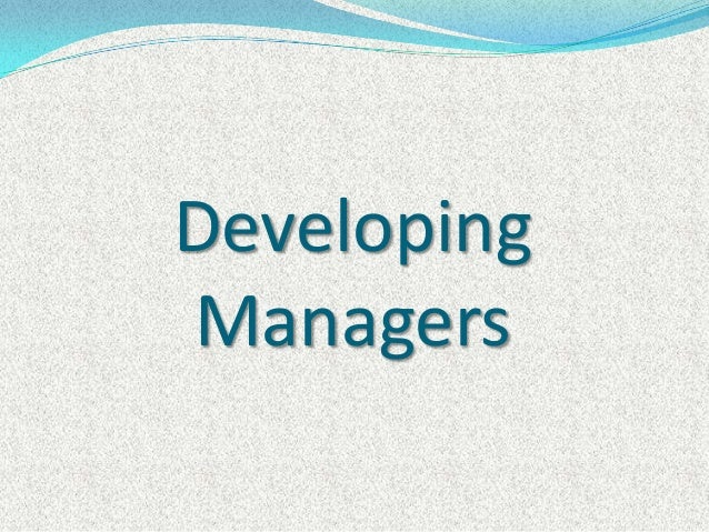 DevelopingManagers