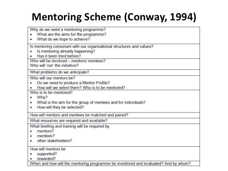 mentoring application templates - developing mentoring program