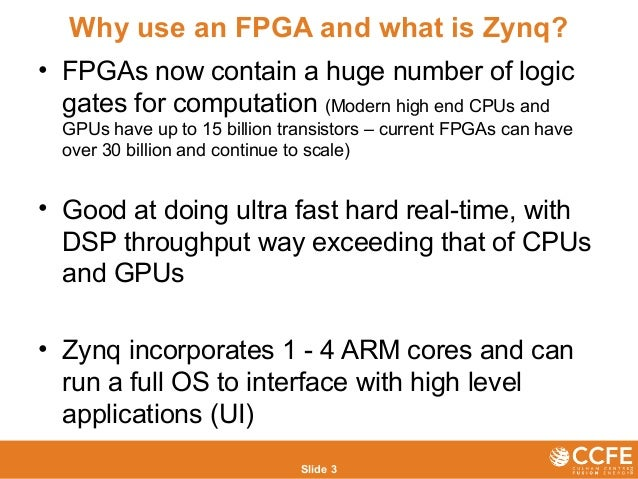 Developing new zynq based instruments