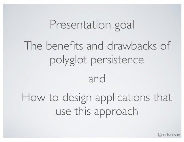 Developing polyglot persistence applications (devnexus 2013) Slide 2