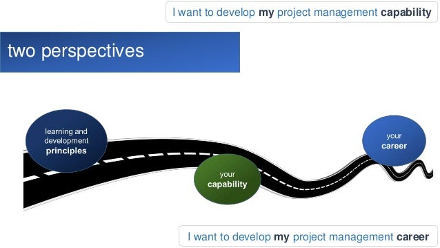 Developing our Project Management Careers webinar Slide 3