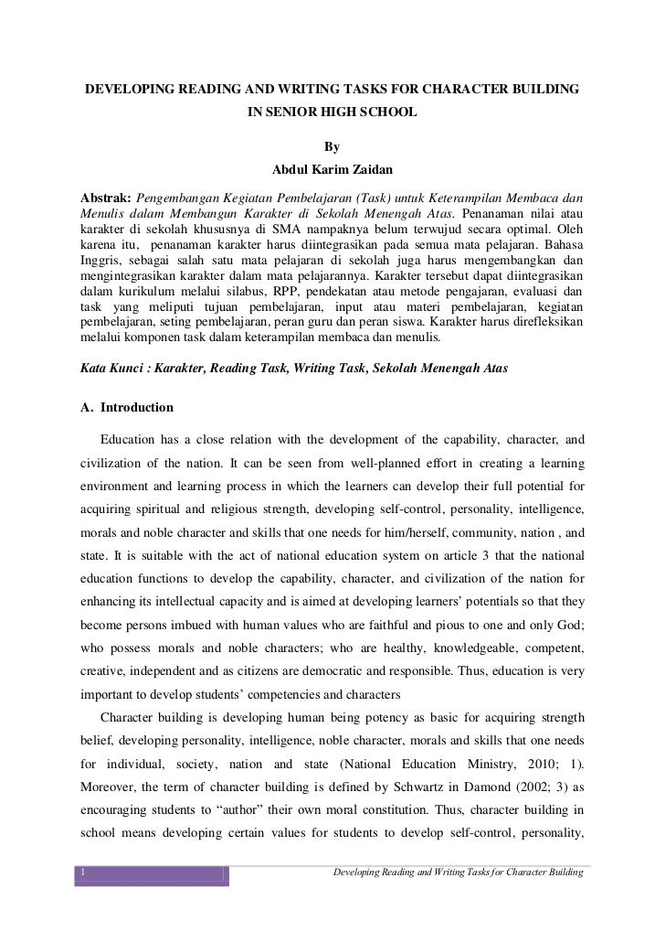 essays on character How to write an impressive and clear national honor society application essay in six national honor society character essay the national honor society essay.
