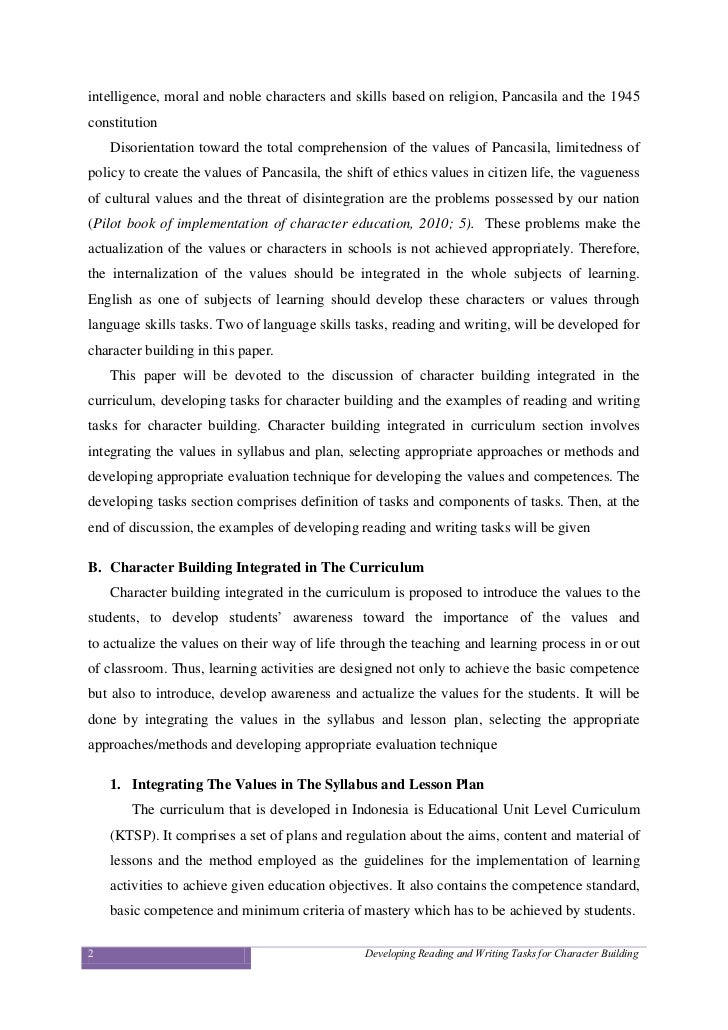 Amelia Earhart Essay Essay On Character Building Essay On Character Building  Instead Of  Concerning About Research Paper Writing Essay On Old Age Homes also Example Of College Essay Essay On Character Building Homework Academic Writing Service The Alchemist Essays