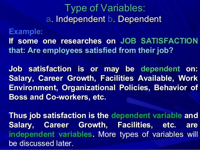 research proposal on job satisfaction
