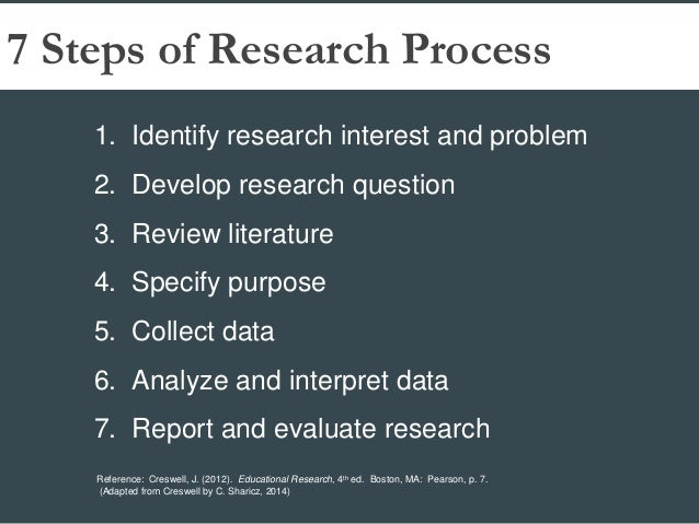 Developing research skills for writing a paper