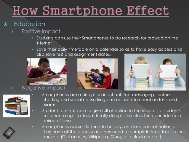 effect of mobile phones on students This ppt will provide you a small introduction about origin of mobile phones, the  various effects of mobile phones on student life and.