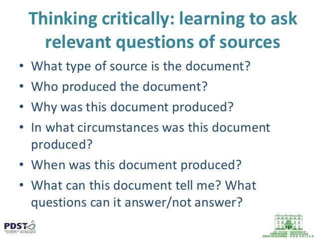 critical thinking questions for elementary students