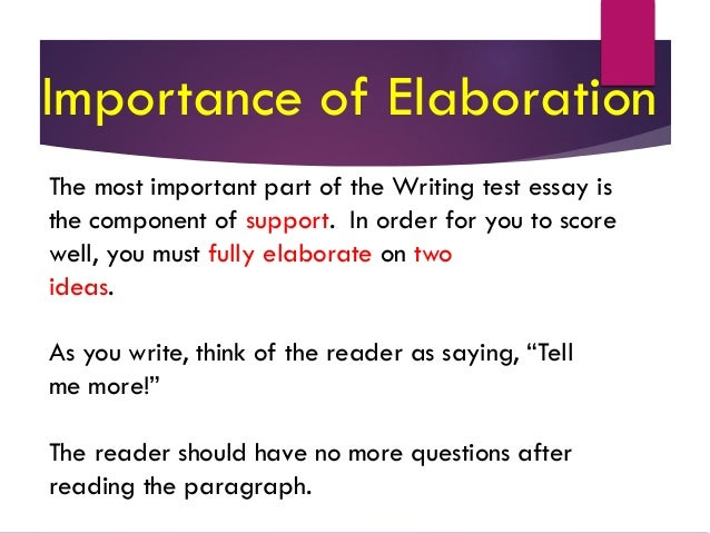 expository essay method of development Effective methods for teaching paragraph development by  writing expository paragraphs the format of the plan sheet is the same, but with more emphasis on.