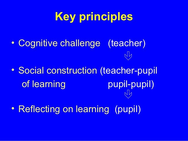 Developing thinking handouts_2010 Slide 3
