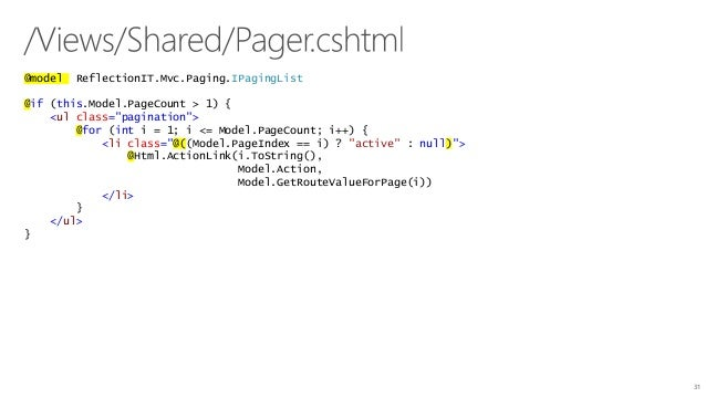 TechDays 2016 - Developing websites using asp net core mvc6 and entit…