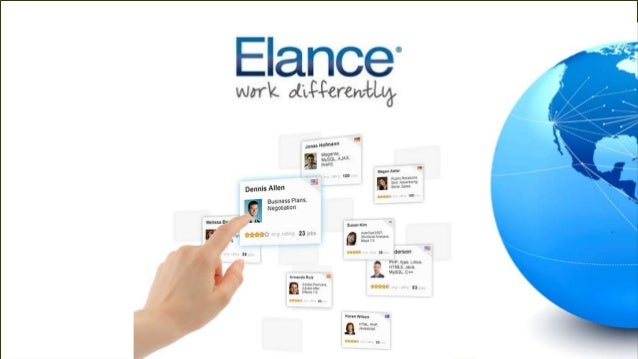 WORK DIFFERENTLY ON ELANCE100,000 job posts last 30 days500,000+ clients2.3m freelancers – rated and tested$735m in lifeti...