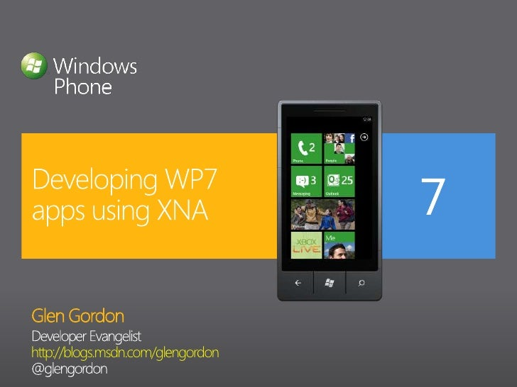 XNA and Windows Phone